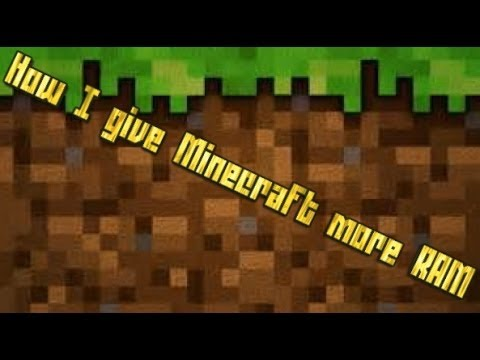how to add more ram to minecraft