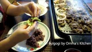 Korean Beef Bulgogi (korean Bbq) 불고기 Tutorial By Omma's Kitchen