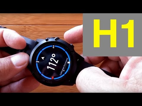 Microwear H1 Fully Waterproof Android Smartwatch: Unboxing & 1st Look
