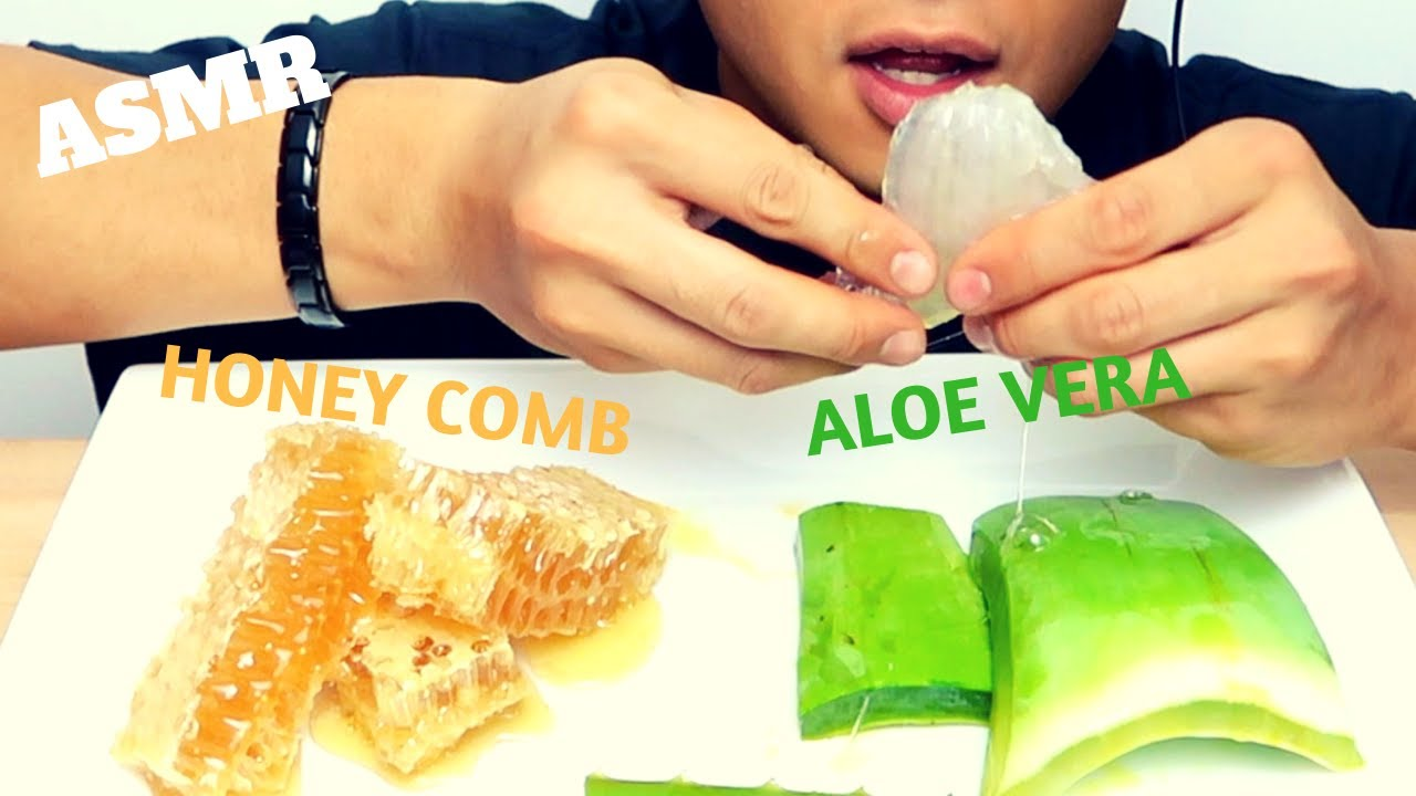 Asmr Aloe Vera Challenge By Sas Asmr Honeycomb Soft Crunchy Eating Sounds ˨¹ë°© Youtube Asmr mystery brain cake eyeball jelly *halloween edition (eating sounds) no asmr creamy mini cheesy rice cake fried seaweed roll (eating sounds) no. asmr aloe vera challenge by sas asmr honeycomb soft crunchy eating sounds 먹방