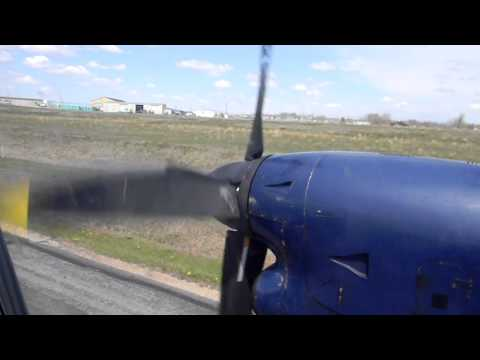 Take of on EMB 125 Turbo Prop from Williston, ND to Denver International Airport