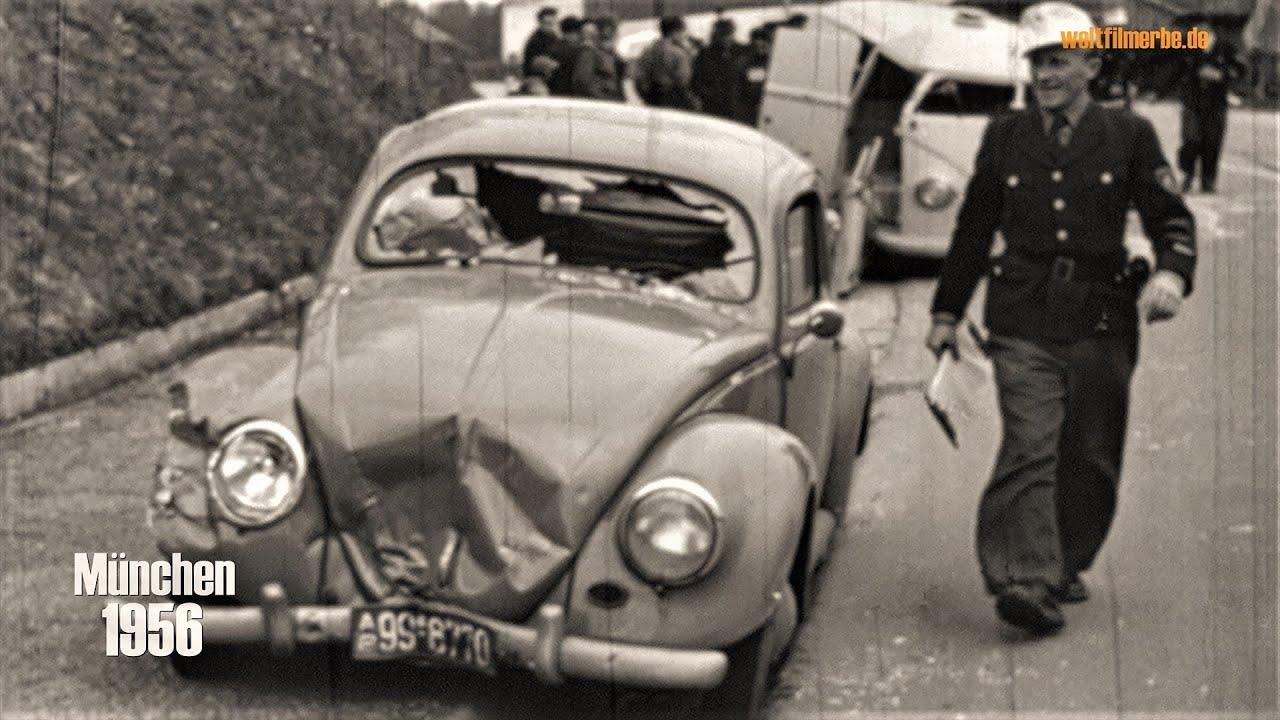 München 1956 - Unfälle aus Lehrfilmen der Polizei - Accidents in educationals of the police