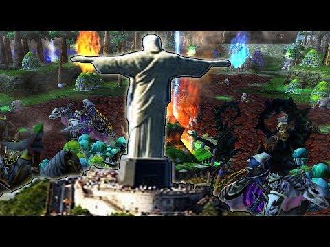 Warcraft 3 - Dos Rio (4v4 #26)