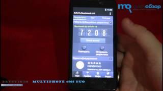 Обзор Prestigio MultiPhone 4505 DUO