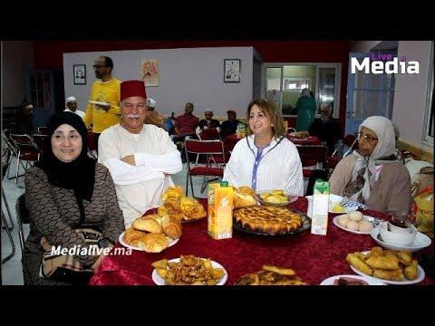 جمعية نهضة زناتة تزور المسنين وتشاركهم وجبة افطار  جماعي وتوزع كسوة العيد بالمحمدية
