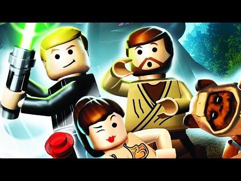 LEGO Star Wars The Complete Saga Walkthrough Part 1 - Phantom Menace!