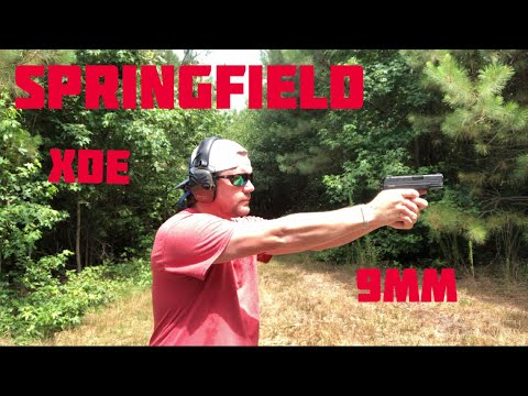 Springfield XDe…..   Shooting and Review