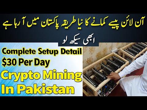 Bitcoin Mining In Pakistan | $30 Per Day | Complete Setup Detail #Bitcoinmining