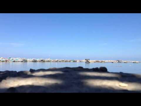 Time Lapse in Gaza Port