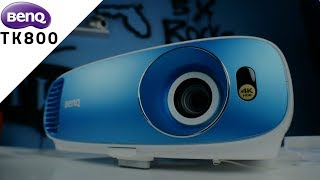 BenQ TK800 True 4K Review | Affordable Living Room Projector