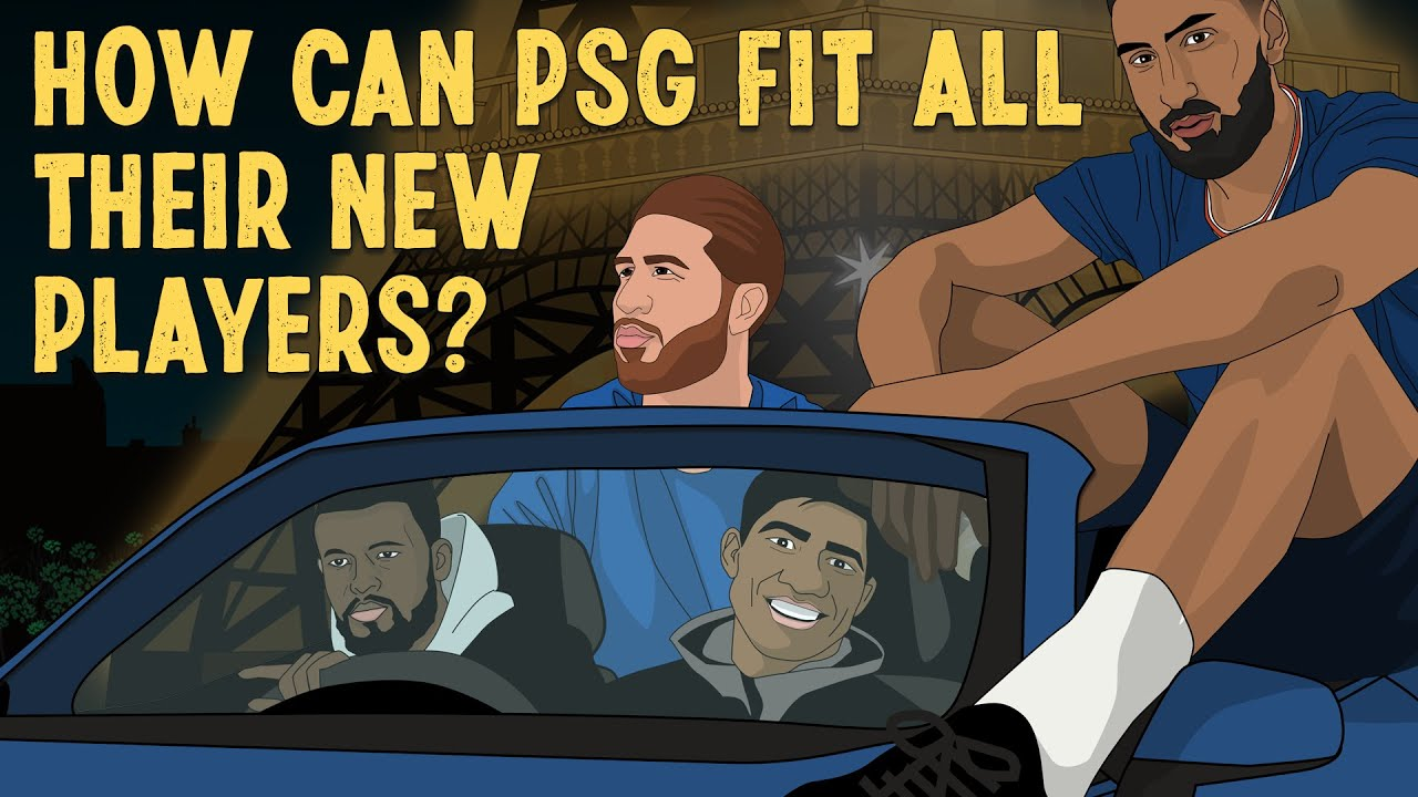 How Can PSG Fit All Their New Players?