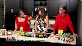 Marinated Pesto Veggie Salad - Easy Real Whole Food Fast - Cfjc Midday - Made With Love