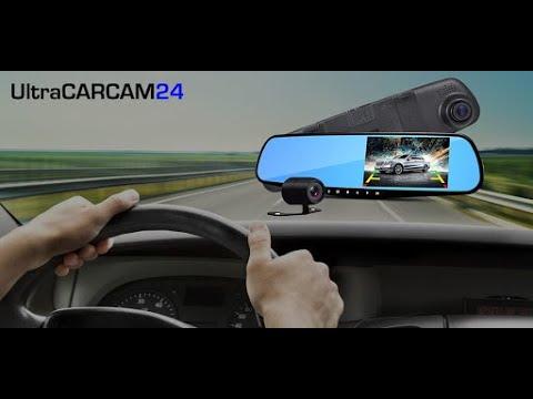 ⭐ ULTRACARCAM 24: VIDEOCAMERA DASH CAM AUTO - SPECCHIETTO RETROVISORE PER INCIDENTI IN ITALIA