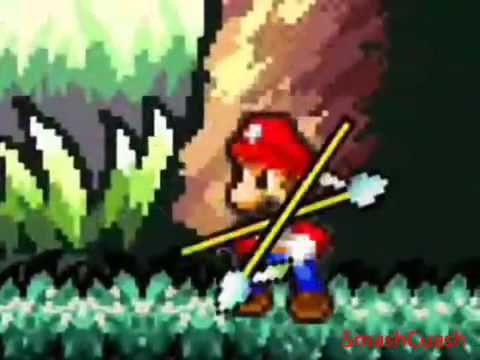 Mario Bros Z Combates: Mario, Luigi, Sonic y Shadow vs Tribu De Yoshis Indios Travel Video
