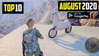 TOP 10 NEW ANDROID GAMES IN AUGUST 2020 | High Graphics (Offline/Online)