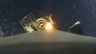 Space X First-stage landing | Onboard camera