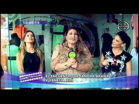 """Sandra Arana vs. Vanessa Jer�: As� fue el candente encuentro de """"las chicas terremoto"""""""