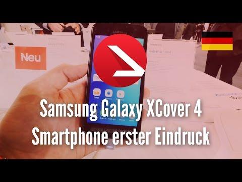Samsung Galaxy XCover 4 Smartphone das alles aushält erster Eindruck