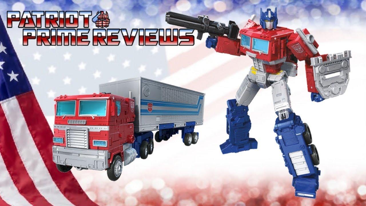 Patriot Prime Reviews Earthrise Optimus Prime