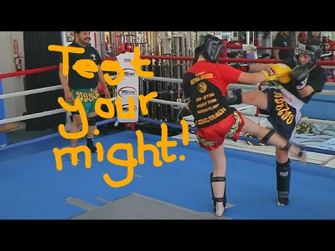 First Neutral Grounds Muay Thai TESTING!!! *** Kids Martial Arts Training Studios
