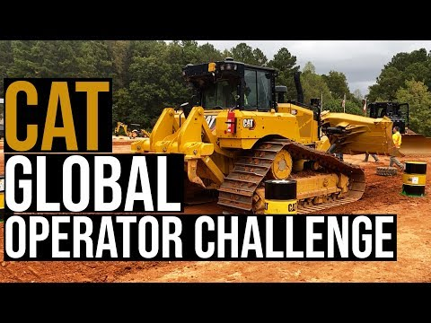 How Cat Will Crown The World's Best Equipment Operator