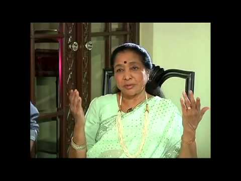 Exclusive interview with Eminent Singer Asha Bhosle