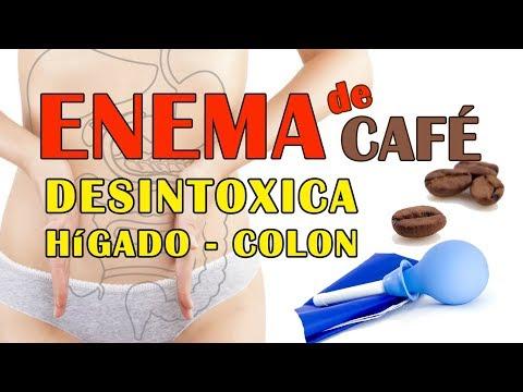 Enema con cafe para adelgazar