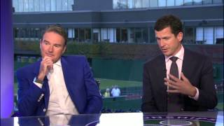 Wimbledon 2014 - Roger with his kids after the final