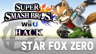 [SSBWii U Hack] Fox from Star Fox Zero