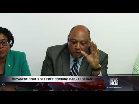 GUYANESE COULD GET FREE COOKING GAS
