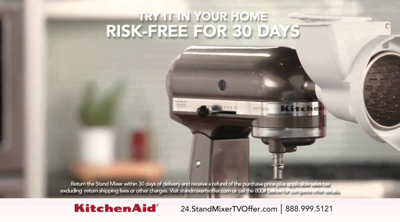 prodigious Kitchenaid Tv Infomercial Part - 15: KitchenAid® 5 Quart Stand Mixer