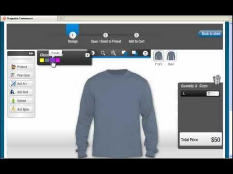 T-Shirt Design Software Tool – Design Guide Tour