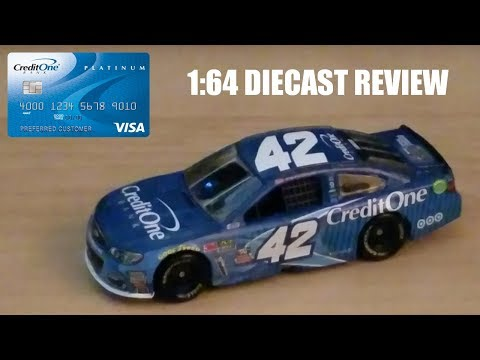 NASCAR Diecast Review: Kyle Larson Credit One Bank 1:64 Chevrolet SS