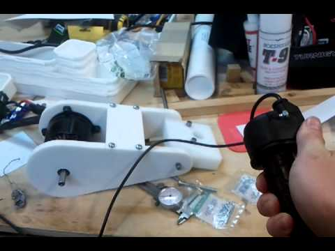 Turnigy 50cc Brushless outrunner with custom throttle by thestug93