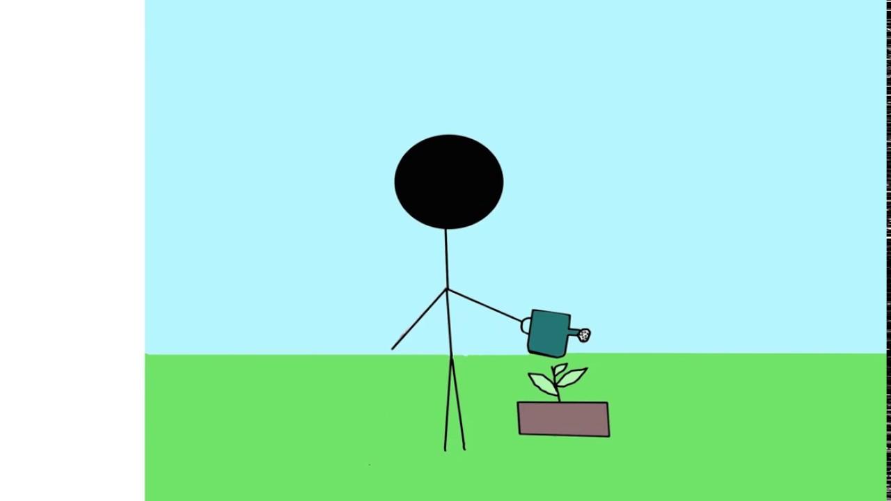 Download 960 Gambar Animasi Orang Menyiram Bunga Paling Keren