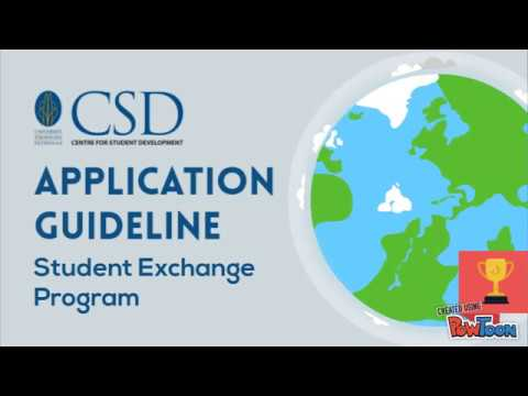 Guide to Apply for Student Exchange Program