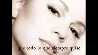 Mariah Carey- All I