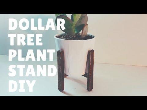 2018 DOLLAR TREE DIY PLANT STAND