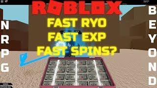 [CODES] ROBLOX - NRPG: Beyond - Fast, Lag Free Ryo, EXP FARM?!?!