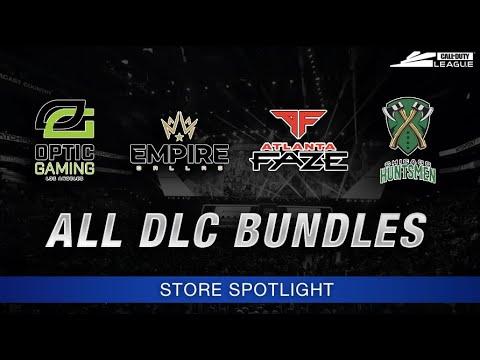 Modern Warfare Call Of Duty League Cosmetic Pack Dlc Bundles Call Of Duty Mw Store Spotlight Youtube