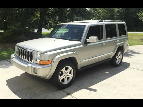 test drive 2009 jeep commander youtube. Black Bedroom Furniture Sets. Home Design Ideas