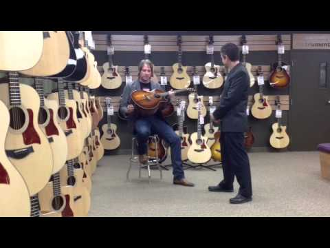 Taylor K24ce Video Review at Georges Music with Aaron Dablow from Taylor Guitars