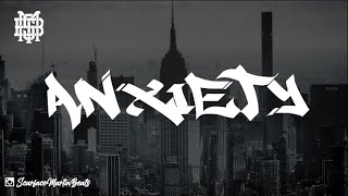 'Anxiety' - (90s Old School Hip Hop Instrumental Boom Bap Beat)