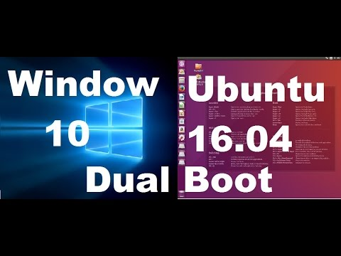 How to Install Ubuntu 16.04 Alongside with Windows 10 in Dual boot