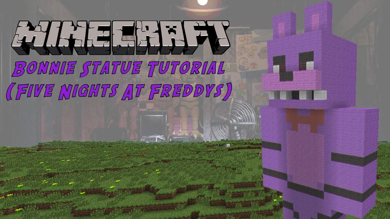 Minecraft Tutorial Bonnie Five Nights At Freddy S