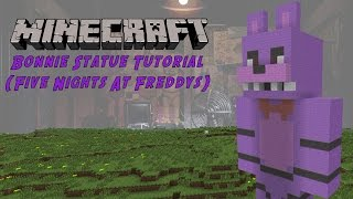 Minecraft Tutorial: Bonnie (Five Nights At Freddy