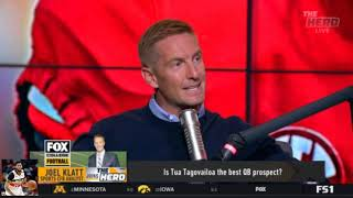 Colin Cowherd Heated Debate Could Saban's coaching tenure be coming to a close?   The Herd