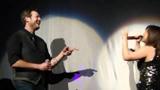 Kelly Clarkson and Blake Shelton