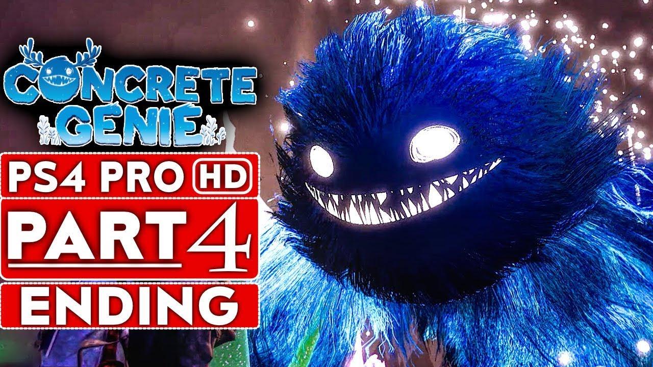 CONCRETE GENIE ENDING Gameplay - soluce 4ème partie [HD PS4 PRO 1080p] - Pas de commentaire + vidéo
