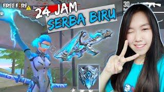 PAKE AK BLUE FLAME DRACO, DAMAGENYA SAKIT BANGET - FREE FIRE INDONESIA
